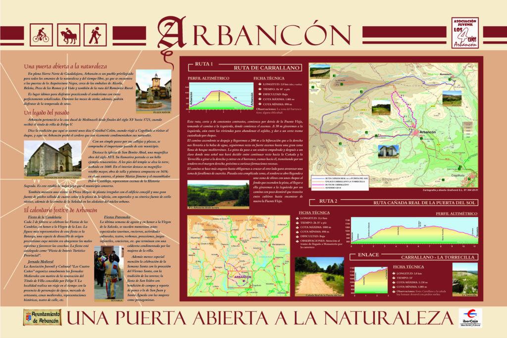 Rutas por Arbancón (Guadalajara)
