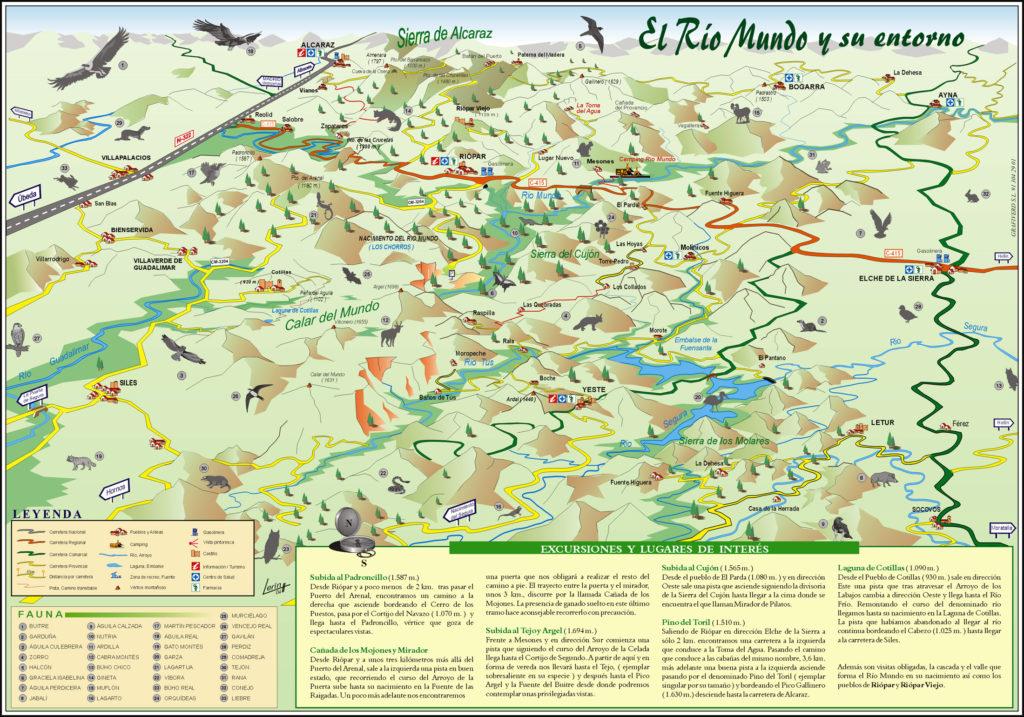 Río Mundo y su entorno (Albacete)