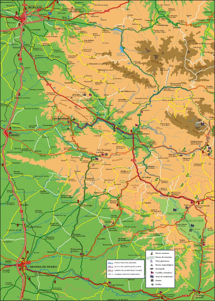 Comarca Burgos Soria