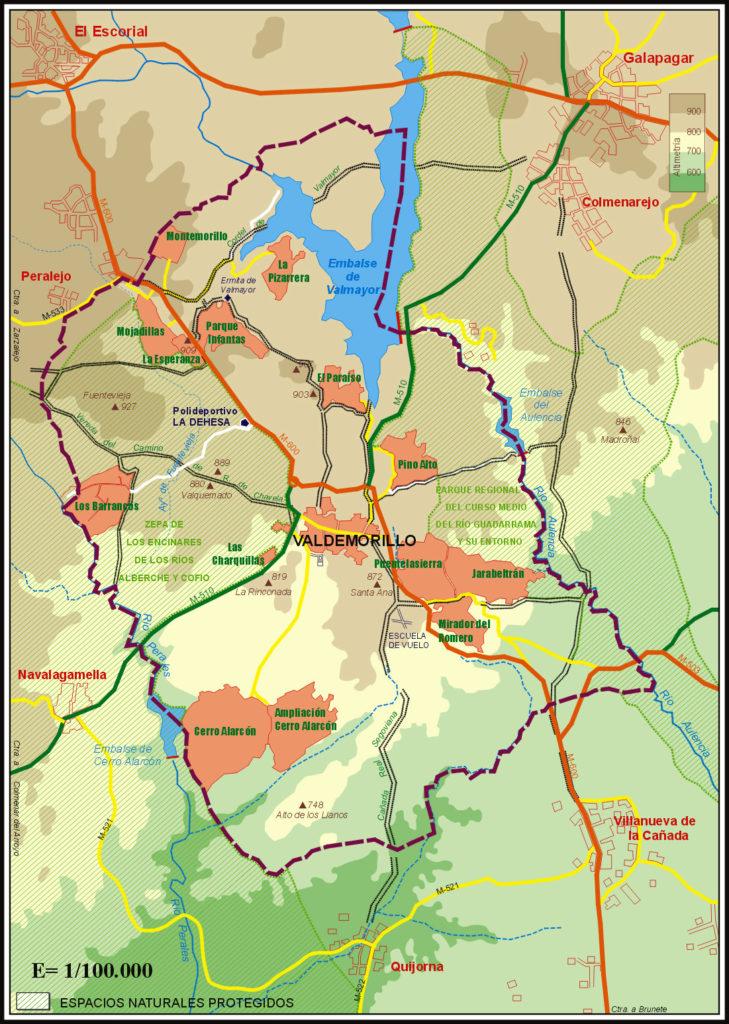 Valdemorillo y urbanizaciones