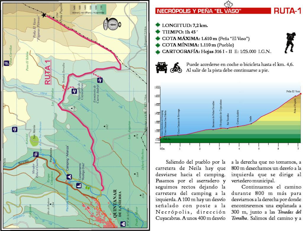 Rutas en Quintanar de la Sierra (Burgos)