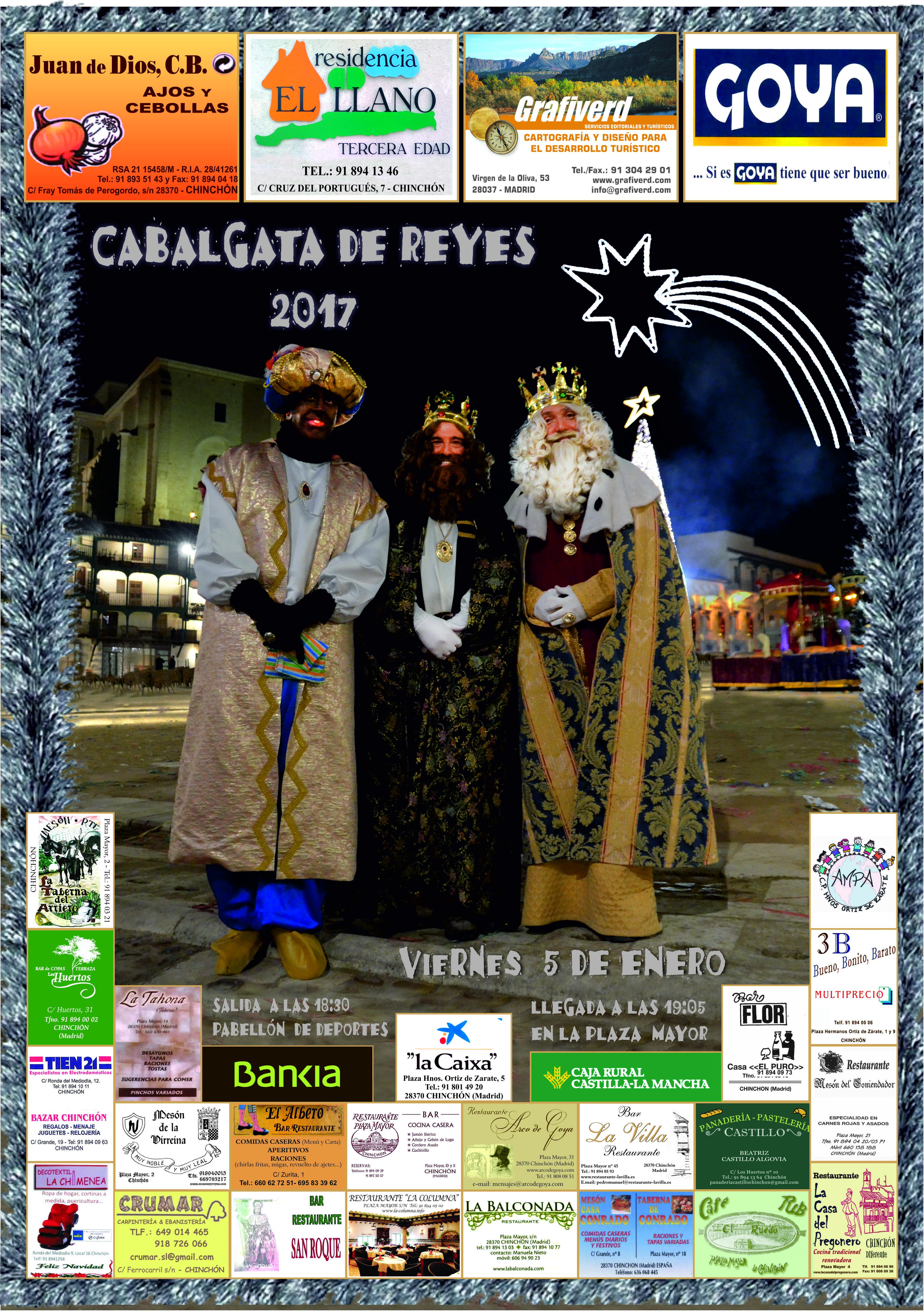 Cabalgata de Reyes (Chinchón)